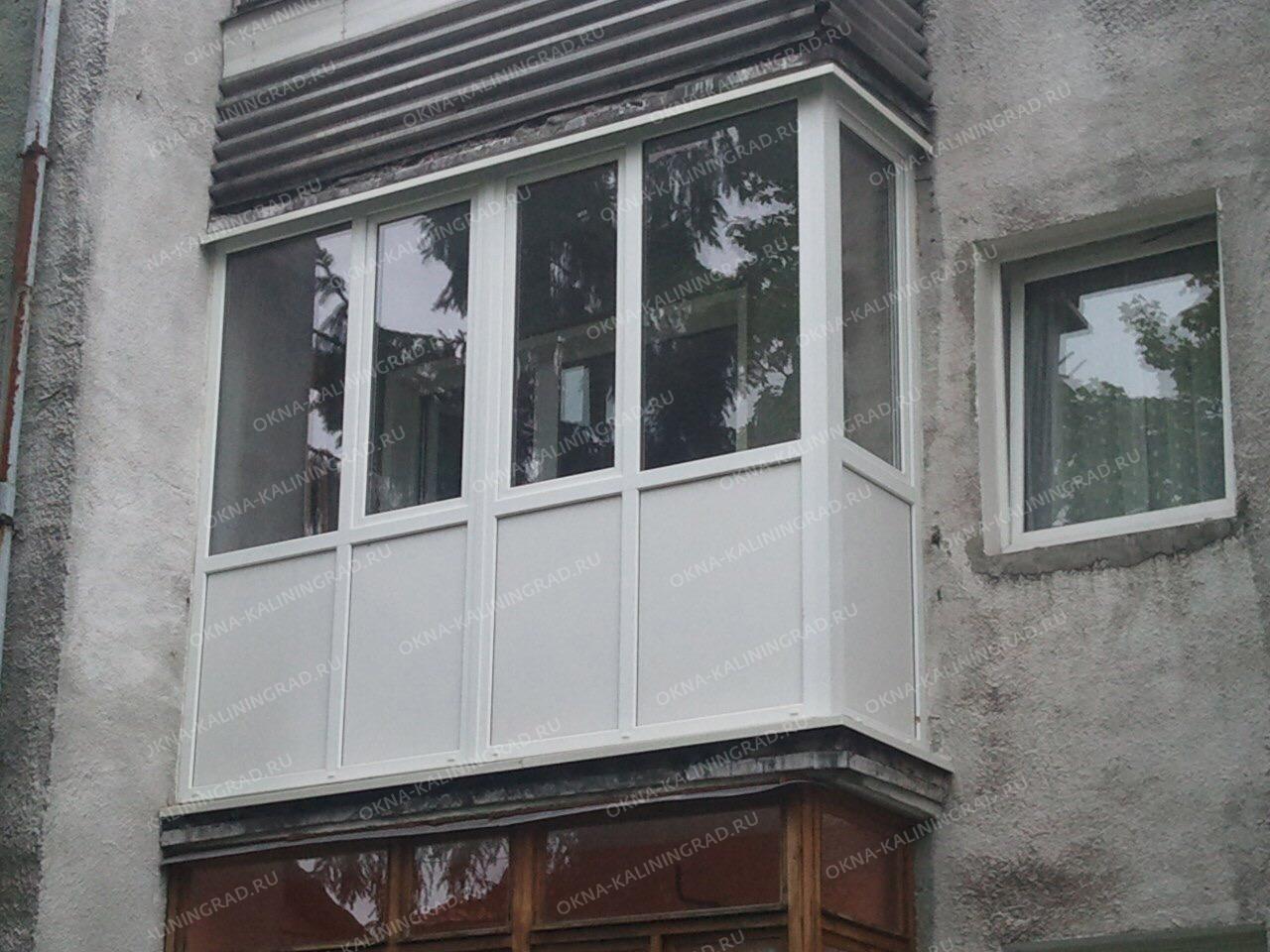 Заказать французский балкон в киеве евробалконы.