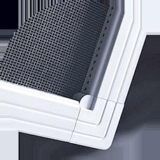 Предлагаем докупить к вашим новым пластиковым окнам на балконе практичные москитные сетки от комаров. Мы изготавливаем сетки от комаров на жесткой алюминиевой рамке с удобным креплением к оконной раме, которое не требует сверления рам.