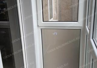 Обшивка стен, настил пола, укладка линолиума на балконе