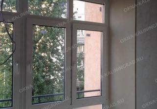 Французское остекление балкона и эго отделка современными финскими экологичными панелями Изотекс