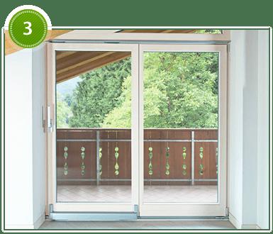 Сдвижные двери на балкон